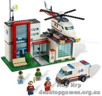 Lego Вертолет-спасатель City 4429
