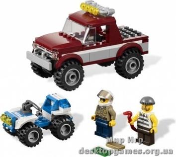 Lego «Полицейская погоня» City 4437