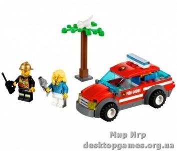 Lego «Автомобиль пожарного» City 60001