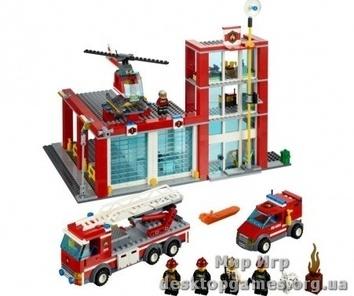 Lego «Пожарное депо» City 60004