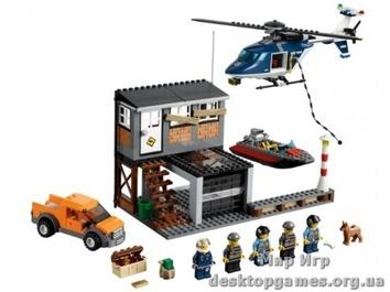 Lego Арест на вертолете City 60009