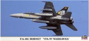 HA00826 F/A-18C Hornet VFA-97 Warhawks