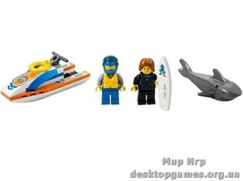 Lego Спасение сёрфингиста City 60011