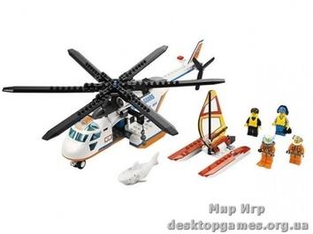 Lego Вертолёт береговой охраны City 60013