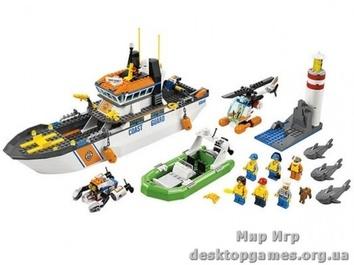 Lego Патруль береговой охраны City 60014