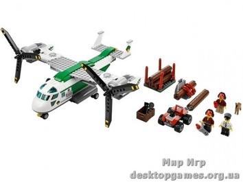 Lego Грузовой конвертоплан City 60021
