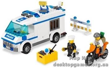 Lego «Перевозка заключённых»  City 7286