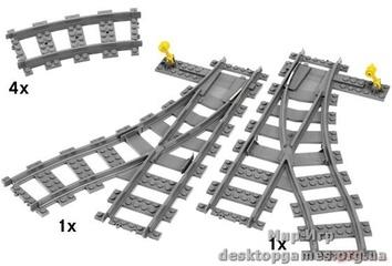 Lego «Железнодорожные стрелки» City 7895