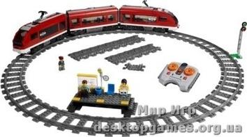 Lego Пассажирский поезд City 7938