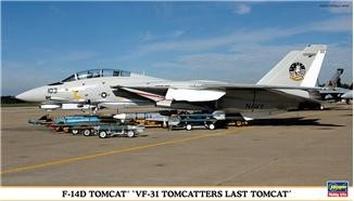 HA00931 F-14D «VF-31 LAST TOMCAT«