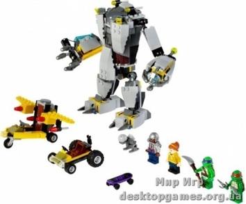 Lego Нападение робота Бакстера Mutant Ninja Turtles 79105