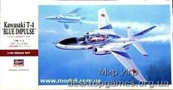Kawasaki T-4 пилотажной группы «BLUE IMPULSE»