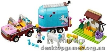 Lego Перевозка лошадей Эмми Friends 3186