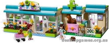 Lego Ветклиника  в Хартлейке Friends 3188