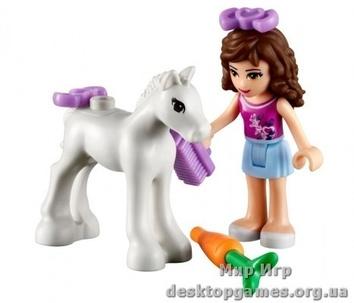 Lego Новорожденный жеребенок Оливии Friends 41003