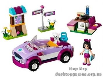 Lego Спортивная машина Эммы Friends 41013