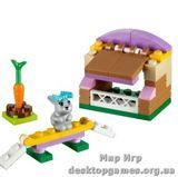 Lego  Домик для кролика Friends 41022