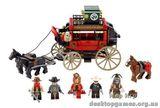 """Lego """"Побег на дилижансе"""" The Lone Ranger"""