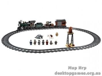 """Lego """"Преследование федерального поезда"""" The Lone Ranger"""