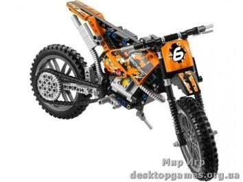 LEGO Мотокроссовый мотоцикл Technic 42007