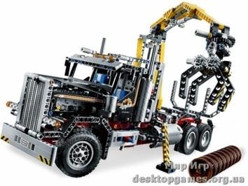 Lego Лесопогрузчик Technic 9397