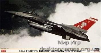 HA09766 F-16C Fighting Falcon Alabama ANG