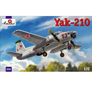 Учебно-тренировочный самолет Як-210