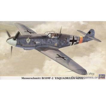 Messerchmitt Bf109F-2 ESQUADRILLA AZUL