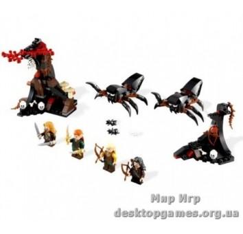 Lego « Бегство от гигантских пауков» The Lord of the Rings 79001