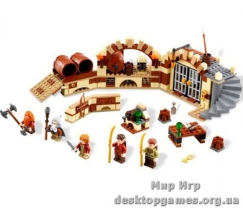 Lego Побег в винных бочках The Lord of the Rings 79004