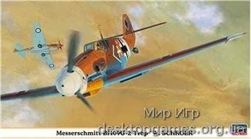 HA09853 Bf109G-2 TROP «W.SCHROER«