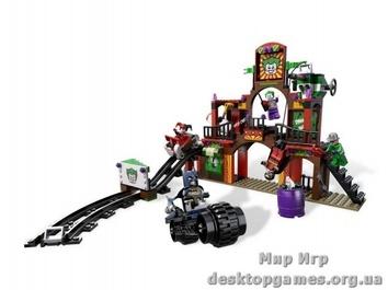 "Lego ""Побег из комнаты смеха"" Super Heroes"