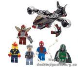 "Lego Человек-паук - схватка у здания ""Дэйли Багл""  Super Heroes"
