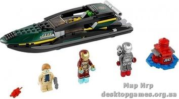Lego Битва в морском порту Super Heroes 76006