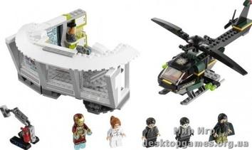 Lego Нападение на особняк в Малибу Super Heroes 76007