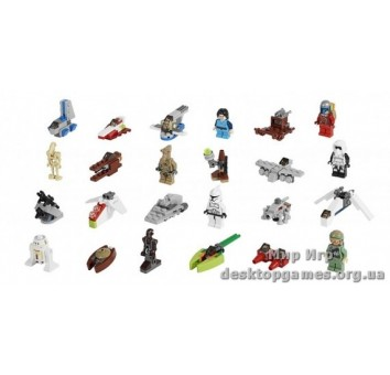 Lego Новогодний календарь Звездные войны Star Wars 75023