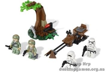 Lego «Комплект повстанцев Эндоре» Star Wars 9489