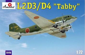 "Модель транспортного самолета L2D3/D4 ""Taddy"""