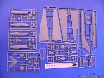 Пластиковая модель истребителя-перехватчика Як-25РВ/РРВ - фото 2