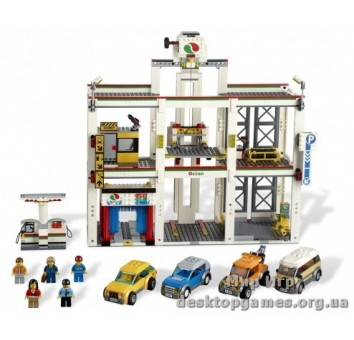 Lego Гараж City 4207