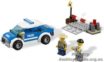 Lego Патрульная машина полиции City 4436