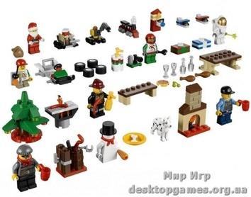 Lego Новогодний календарь City 60024