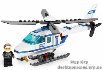 Lego «Полицейский вертолет» City 7741