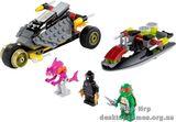 Lego Хитрый план преследования Mutant Ninja Turtles 79102