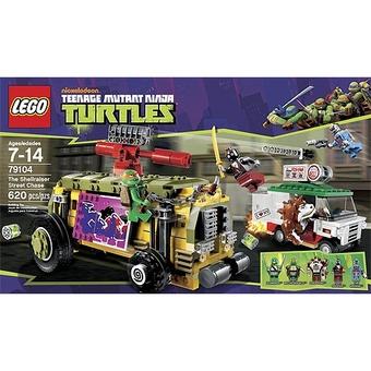 Lego Преследование на панцирном Танке Mutant Ninja Turtles