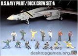 HA36006 U.S. NAVY PILOT/DECK CREW SET A