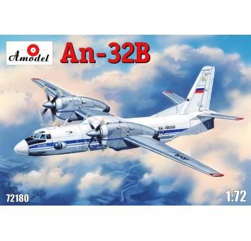 Антонов Ан-32B Многоцелевой транспортный самолет СССР