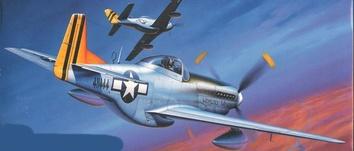 Истребитель ВВС США P-51K Mustang