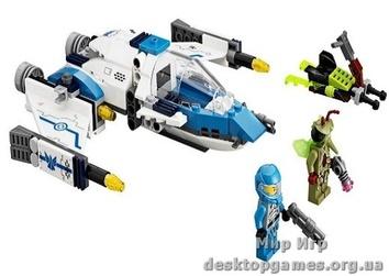 Lego «Истребитель инсектоидов» Galaxy Squad 70701
