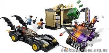 """Lego """"Бэтмобиль и преследование Двуликого"""" Super Heroes"""